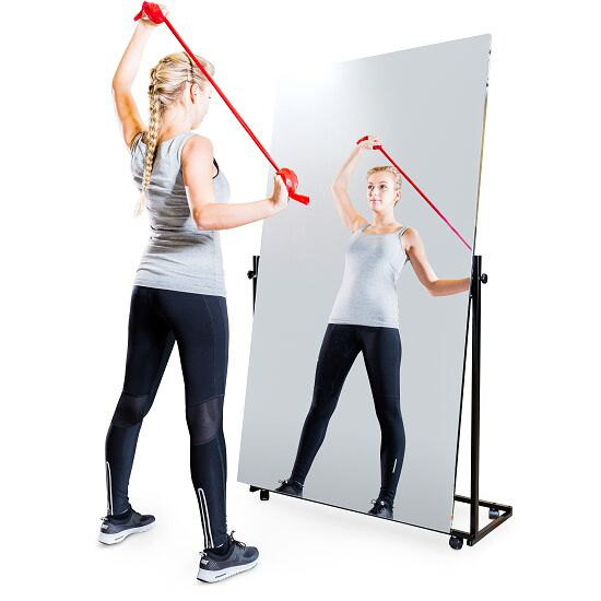 Verplaatsbare Correctie-Foliespiegel 1-delig, kantelbaar, 175x100 cm (HxB)