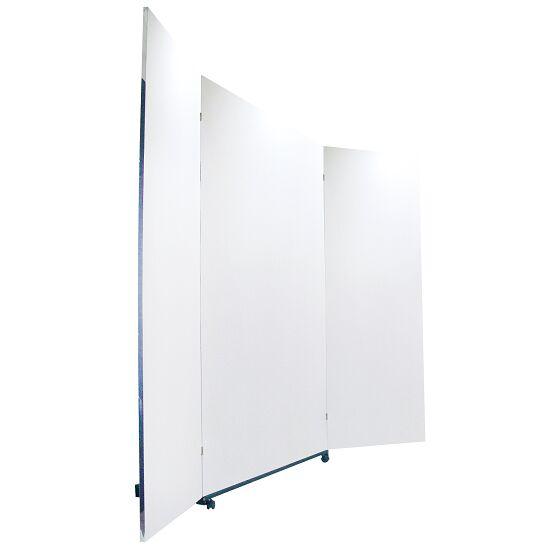 Verplaatsbare Correctie-Foliespiegel 3-delig, samenklapbaar, 200x150/74/74 cm (HxB)