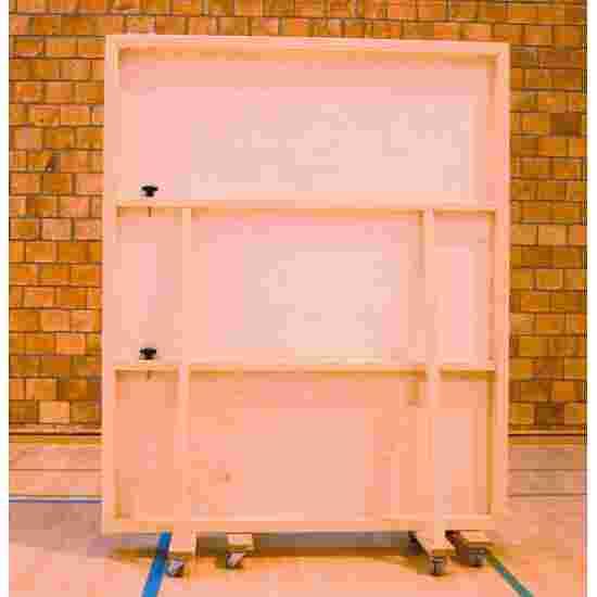 Verrolbare Spiegelwand 400x180 cm Zonder beschermfolie tegen splinters