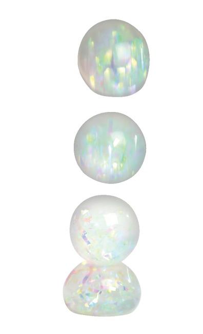 Diamant regenboogbal 6-delige set