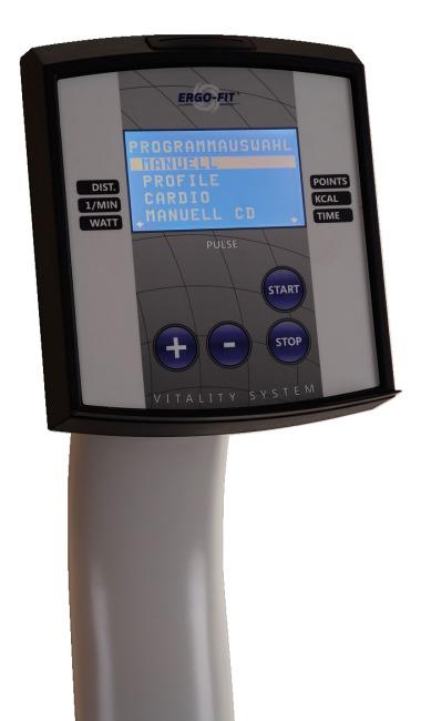 "Ergo-Fit® ""Recumbent 4000"" fietsergometer 4000 MED"