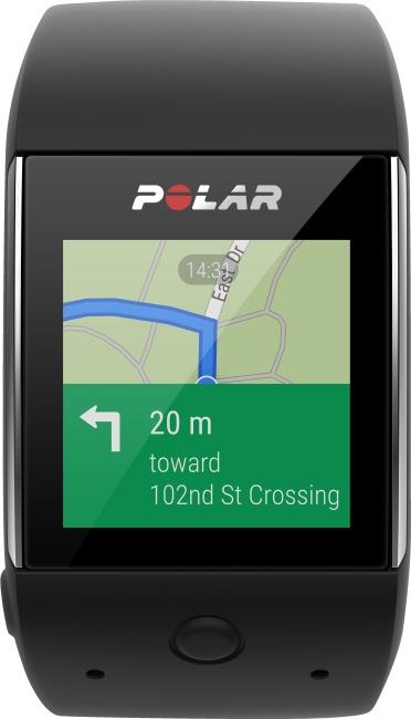 """Polar® GPS Smartwatch """"M600"""" Zwart"""