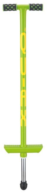 Qu-Ax® Pogo-stick Neongroen, L: 86 cm, tot 20 kg