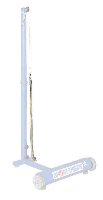 Spanconstructie voor badmintonnetten