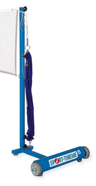 Sport-Thieme® Badminton-Palen Met katrolsysteem