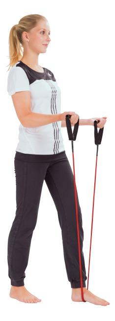 Sport-Thieme® Fitness-Tube Groen = licht, Enkel