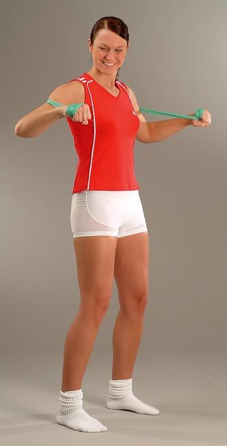 Sport-Thieme Fitnessband 150 2 m x 15 cm, Groen = licht