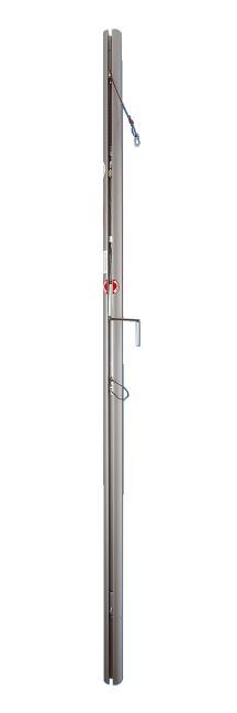 Sport-Thieme® Volleybalpalen ø105 mm DVV 2 Met spindelspansysteem
