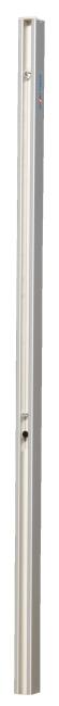 Sport-Thieme Volleybalpalen 80x80 mm Met spindelspansysteem