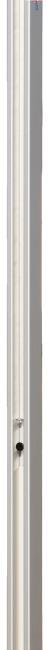 Sport-Thieme® Volleybalpalen 80x80 mm Met katrolsysteem