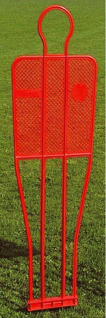 Voetbaldummy, enkel 180 cm, 3,5 kg