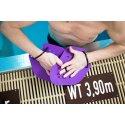 Sport-Thieme Swim-Power Paddles Maat  XXL, 26x21 cm, paars