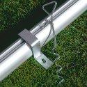 Veiligheids-Verankeringssysteem Doelen, met inklapbare netbeugels
