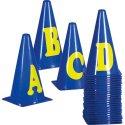 Markeerkegels Letters A-Z