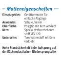 "Sport-Thieme® Toestel Turnmat ""GTM 3000"" 200x100x6 cm, 17 kg, Blauw"