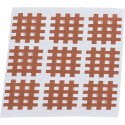 "KS-Medical KS Gittertape ""Cross-Patches"" 40 Pleister 52x44 mm, Beige"