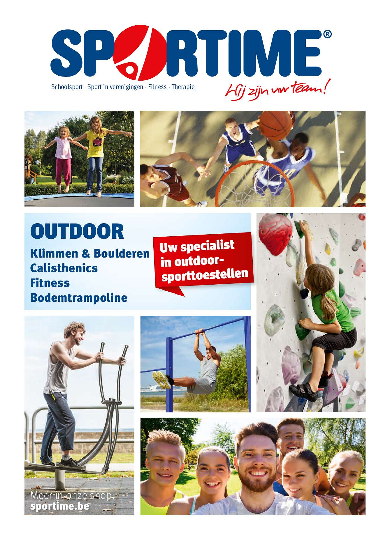 Sport-Thieme Outdoorflyer