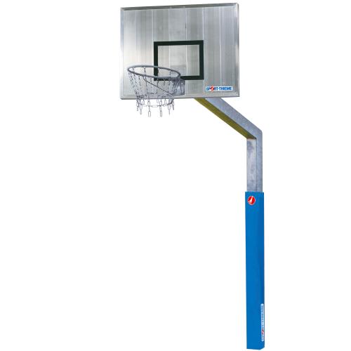 "Sport-Thieme Basketbalinstallatie  ""Fair Play"" met Kettingnet"