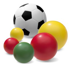 Sport-Thieme® PU-Schuimstofballen-Set