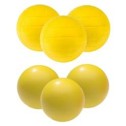 """Sport-Thieme® PU-Schuimstofballen-Set """"Volleybal"""""""