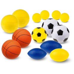 "Sport-Thieme PU-Schuimstofballen-Set ""Team"""