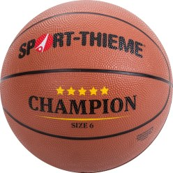"Sport-Thieme® Trainings-basketbal ""Champion"" Maat 6"