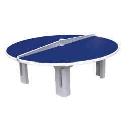 """Sport-Thieme® tafeltennistafel """"Rondo"""" van polymeerbeton"""
