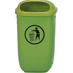Afvalbak volgens DIN
