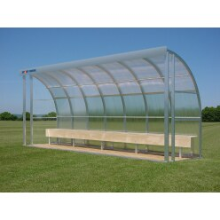 Sport-Thieme® Dug-Out voor 10 personen