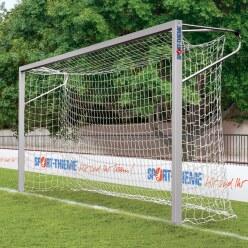 Sport-Thieme® Jeugdvoetbaldoel 5x2 m, vierkant profiel, in grondbussen staand