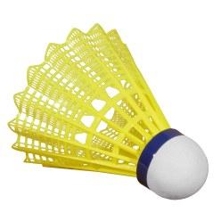 """Victor® Badmintonshuttles """"Shuttle 1000"""" Blauw, middel, neongeel"""