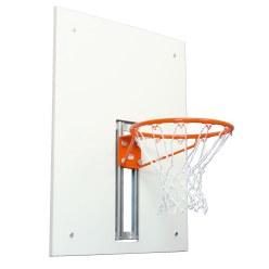 Doelbord voor basketballadder