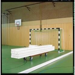 Zaalhockey-Balken Zonder kunststof bescherming