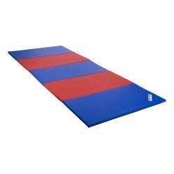 Sport-Thieme® Vouwmat 480x120x3 cm, Blauw-rrod