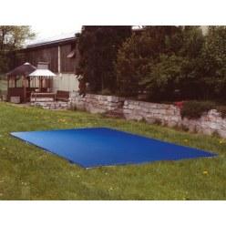 Afdekking voor bodemtrampolines