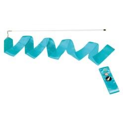 Sport-Thieme® Wedstrijd Gymnastieklint 4 m met staaf Korenblauw