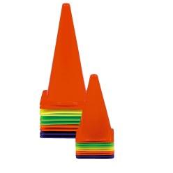 Sport-Thieme Sport-Thieme® Markeringskegels Set van 10 20,5x20,5x37 cm
