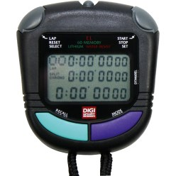 "DIGI Stopwatch ""PC-91-EL"" 60 Memory"