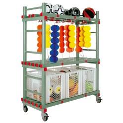REA® Kunststof Combi-Materiaalwagen