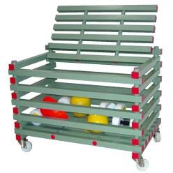 REA® Kunststof Materiaalwagen Open model