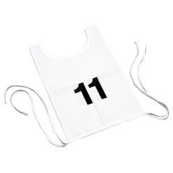 Hesje met dubbele startnummers