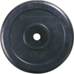 Sport-Thieme® Halterschijven met rubber bekleed