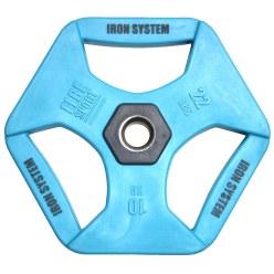 Hot Iron® Halterschijven, 10 kg