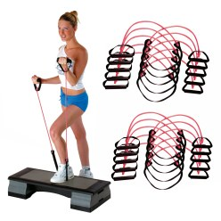 Sport-Thieme Fitness-Step-Tube 10-delige set