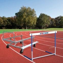 Sport-Thieme® trainingshorden- en transportwagen-set