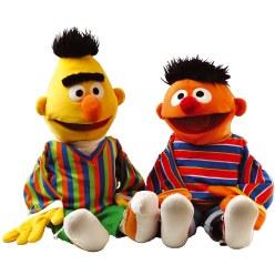 <z12>Handpoppen Set Ernie & Bert