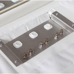 Luchtregelmodule voor Sport-Thieme® Luchtbelzuilen, inbouwversie