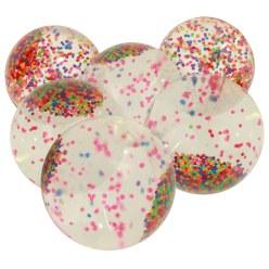 Toverbol met confetti 6-delige set