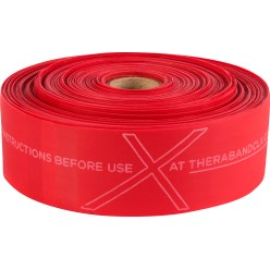 TheraBand® CLX™ Band, 22 m Rol Rood, medium