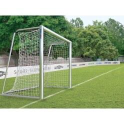 Volledig gelast voetbaldoel 3x2 m, transportabel met de nieuwe nethouderrail